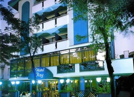 Hotel Ray - Hotel trois etoile - Balcon  - hotel ray - Viserba