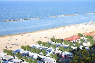Angebot Stellplätze September im Camping am Meer in den Marken